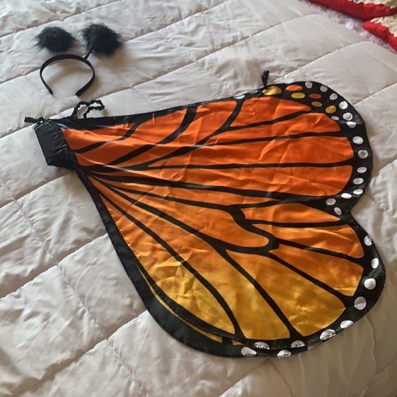 Butterfly 🦋 wings w/ head band